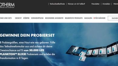 Biotherm Gewinnspiel Life Planktion Elixir Hauptflege Produktsets
