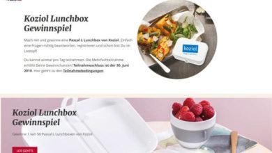 Bild von Ich liebe Käse Gewinnspiel – Gewinne eine Lunchbox