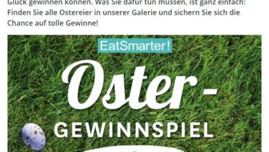 Eatsmarter Gewinnspiel - Ostergewinnspiel
