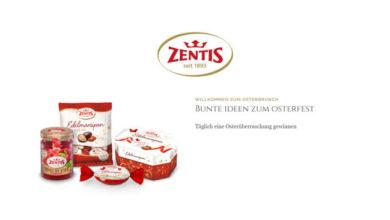 Bild von Zentis Oster-Gewinnspiel täglich Produktpakete