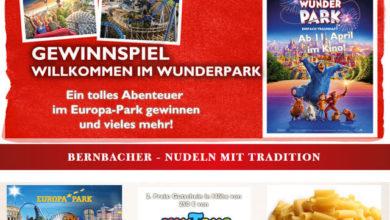 Bernbacher Gewinnspiel Erlebnisaufenthalt im Europa-Park gewinnen