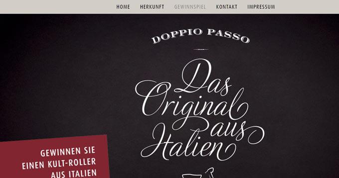 Doppio Passo Gewinnspiel Kult-Roller aus Italien gewinnen