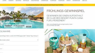 L'OCCITANE en Provence Gewinnspiel Aufenthalt im Club Med Resort Punta Cana gewinnen