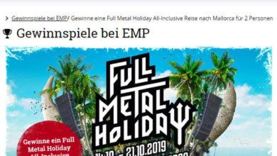EMP Gewinnspiel Mallorcareise für Metalfans gewinnen