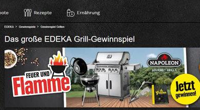 Edeka Gewinnspiel Gas-Grill gewinnen