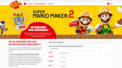Call-a-pizza Gewinnspiel Nintendo Switch mit Super Mario Maker 2 gewinnen