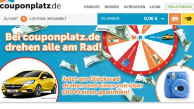 Couponplatz Gewinnspiel Opel Corsa oder viele weitere Preise gewinnen