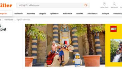 Bild von Müller Gewinnspiel Familienausflug ins LEGOLAND Deutschland gewinnen