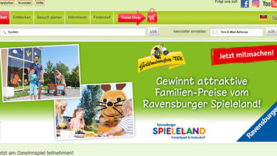 Ravensburger Gewinnspiel 2 Tage Familienspaß im Ravensburger Spieleland gewinnen