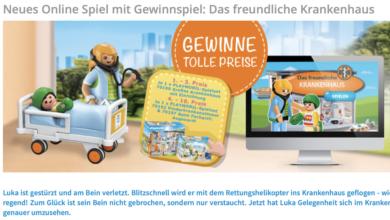 Bild von Playmobil Gewinnspiel – großes Krankenhaus mit Einrichtung gewinnen