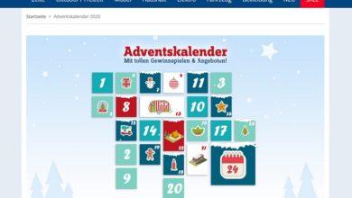 Berger Adventskalender Gewinnspiel 2020