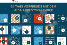 Bild von Jetzt beim AIDA Adventskalender viele tolle Preise gewinnen – AIDA Gewinnspiel