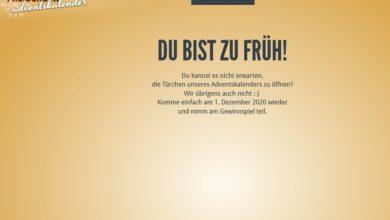 Freiberger Adventskalender Gewinnspiel 2020