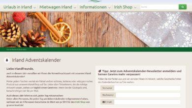 Grüne Insel Adventskalender Gewinnspiel 2020