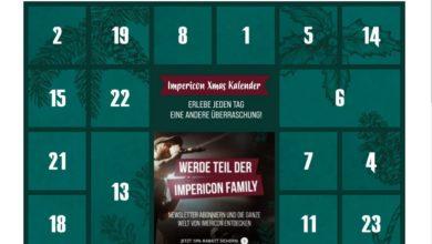 Impericon Adventskalender Gewinnspiel 2020