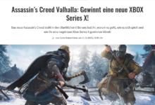 Bild von Jetzt eine XBOX Series X gewinnen – GameZ Gewinnspiel