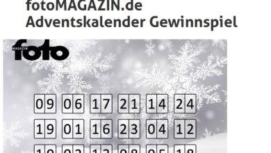 fotoMAGAZIN Adventskalender Gewinnspiel 2020