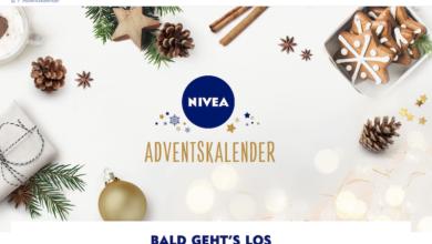 Nivea Adventskalender Gewinnspiel 2020