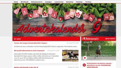 Bayerns Pferde Adventskalender Gewinnspiel 2020