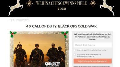 Call of Duty: Black Ops Cold War für PS5 gewinnen: Männersache Gewinnspiel