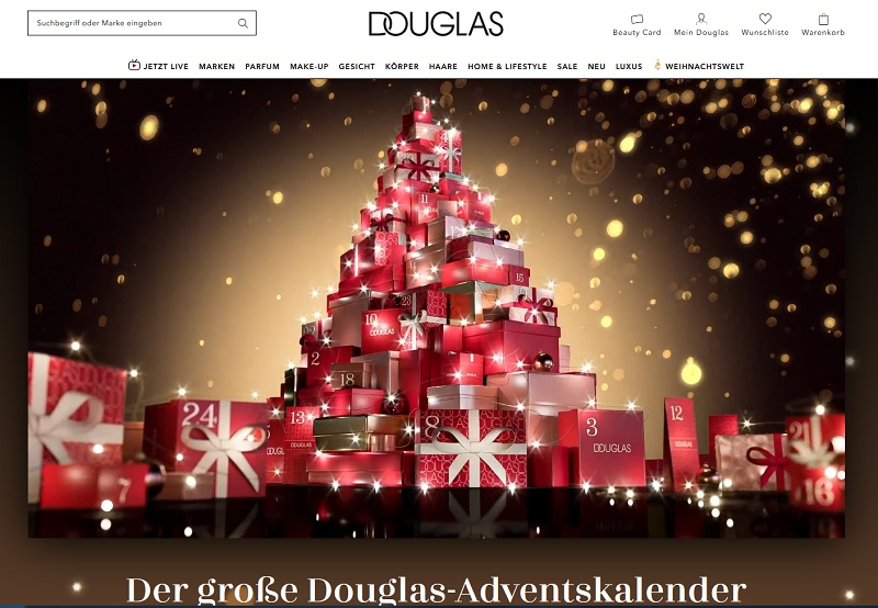 Douglas Adventskalender Gewinnspiel 2020