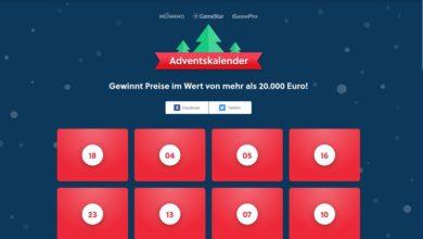 Gamestar Adventskalender Gewinnspiel 2020