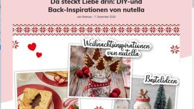 Glamour Gewinnspiel nutella Paket und Gutschein für Backworkshop gewinnen