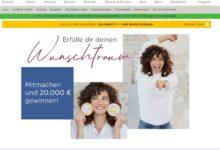 Jetzt 20.000 Euro gewinnen: Baur Wunschtraum Gewinnspiel