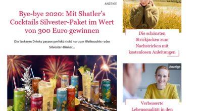 Jetzt Shatler's Cocktails Silvester-Paket gewinnen Für Sie Gewinnspiel