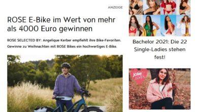 Jolie ROSE E-Bike Gewinnspiel