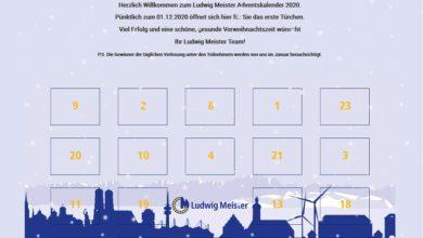 Ludwig Meister Adventskalender Gewinnspiel 2020