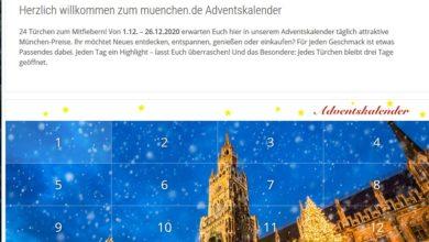 München Adventskalender Gewinnspiel 2020