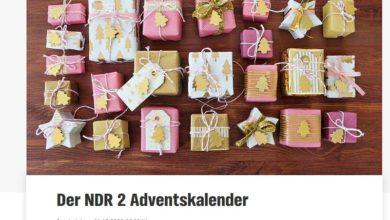 NDR 2 Adventskalender Gewinnspiel 2020