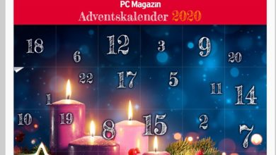 PC-Magazin Adventskalender Gewinnspiel 2020