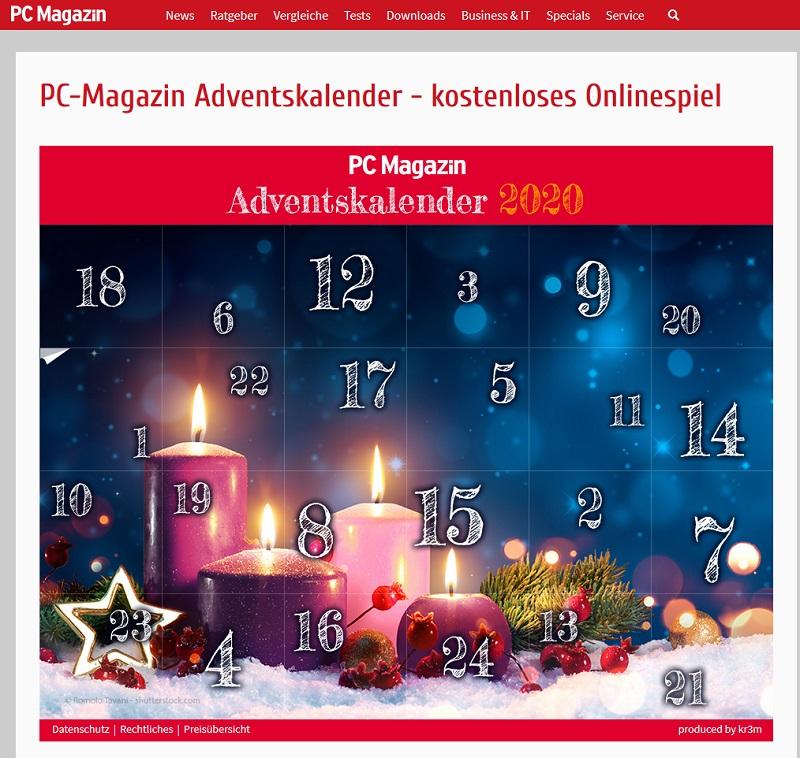 Pc Magazin Adventskalender