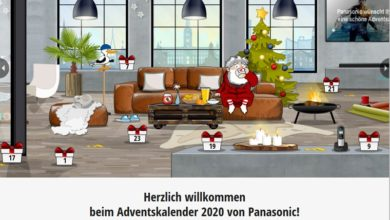 Panasonic Adventskalender Gewinnspiel 2020