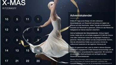 Ritzenhoff Adventskalender Gewinnspiel 2020