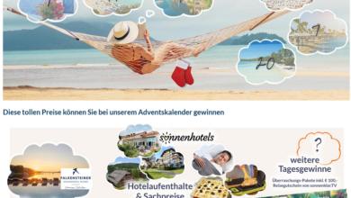 Sonnenklar.tv Adventskalender Gewinnspiel 2020
