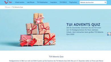 TUI Hotelgutschein Gewinnspiel