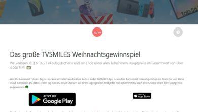 TVSMILES Gewinnspiel: Jetzt viele Preise gewinnen