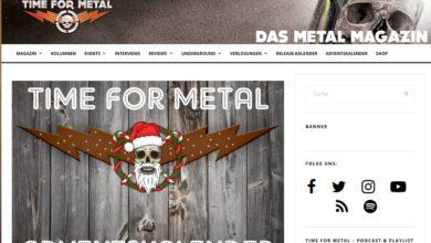 Time For Metal Adventskalender Gewinnspiel 2020