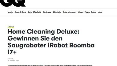 Gewinne einen iRobot Roomba® i7+ Saugroboter: GQ Gewinnspiel