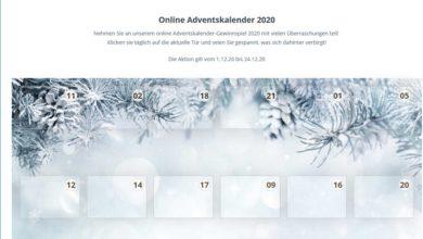 namensbaender.de Adventskalender Gewinnspiel 2020