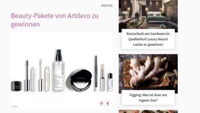 Artdeco Beauty-Paket gewinnen: petra Gewinnspiel
