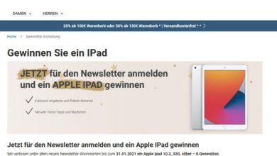Gewinne ein Apple iPad: Jeans Fritz Gewinnspiel