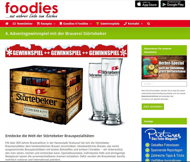 Gewinne eine Störtebeker Entdeckerkiste foodies Magazin Gewinnspiel