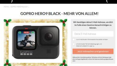 Jetzt GoPro HERO9 Black Kamera gewinnen: Männersache Gewinnspiel