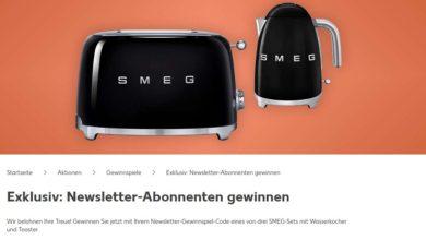 Jetzt SMEG-Set gewinnen: Kaufland Gewinnspiel