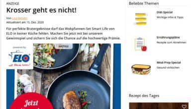 Jetzt Wokpfannen-Set gewinnen EatSmarter Gewinnspiel