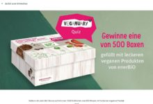 Jetzt vegane enerBiO-Box gewinnen: Rossmann Gewinnspiel